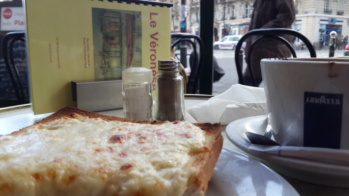 Croque Monsieur et Grand Chcocolat