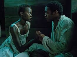 Lupita Nyong'o (Patsey) and Chiwetel Ejiofor (Solomon Northup) from www.slate.com