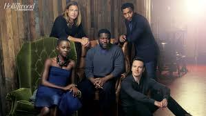 Lupita, Brad Pitt, Steve McQueen, Chiwetel, and Michael Fassbender form www.hollywoodreporter.com